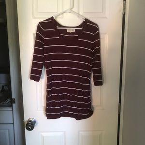 Pink Rose Women's Sweater - Size Large